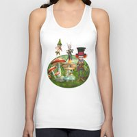 concert Tank Tops featuring Night Concert by Simone Gatterwe