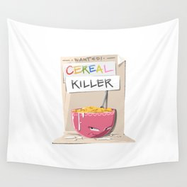 Cereal Killer Wall Tapestry