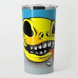 Packman Skull Travel Mug