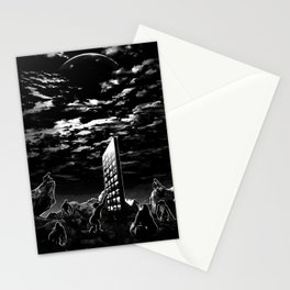 Space Odyssey Evolution Monolith Stationery Cards