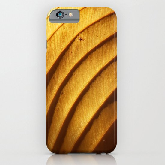 Golden Leaf Light Abstract iPhone & iPod Case