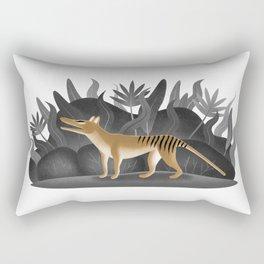 Thylacine time Rectangular Pillow