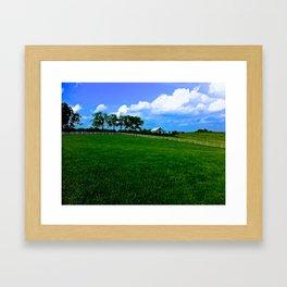 Bluegrass Pastoral Framed Art Print