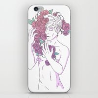 heymonster iPhone & iPod Skins featuring Pretty Boy 1 by heymonster
