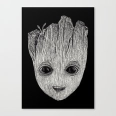 Baby Guardian Canvas Print