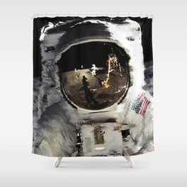 Last Contact Shower Curtain