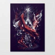 Final Trick Canvas Print