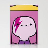 princess bubblegum Stationery Cards featuring Princess Bubblegum  by lapinette