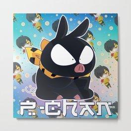 P-chan Metal Print