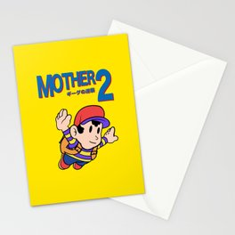 Mother 2 / Earthbound / Super Mario Bros. 3 Style Stationery Cards