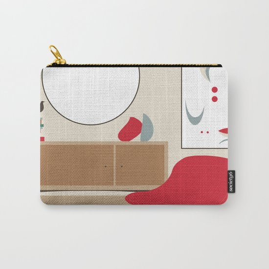 Inside Mid-century modern 01_19 Carry-All Pouch