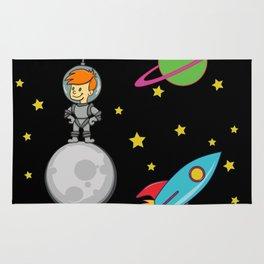 Astro Kid, Space Explorer Rug