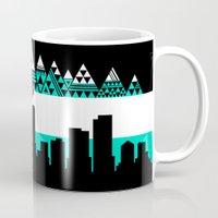 colorado Mugs featuring COLORADO by Love Life Creative