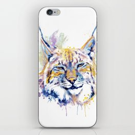 Bobcat Head iPhone Skin