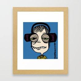 do you like rock music like i like rock music Framed Art Print