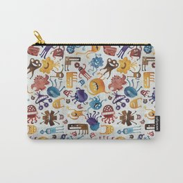 Critter Pattern 3 Carry-All Pouch
