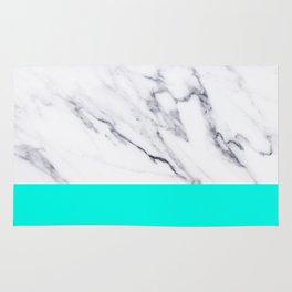 Marble Blue Luxury iPhone Case and Throw Pillow Design Rug
