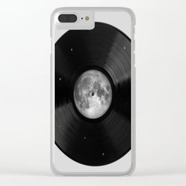 Moon song Clear iPhone Case