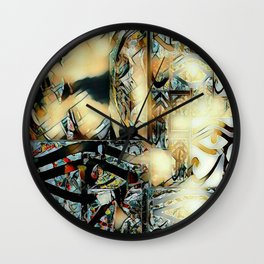 Phillip of Macedon series 4 Wall Clock