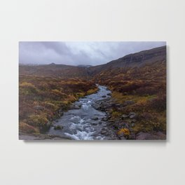 Fall Colors on Iceland's Ring Road Metal Print