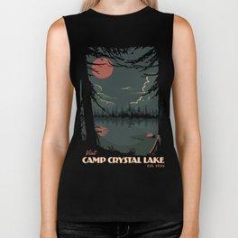 Visit Camp Crystal Lake Biker Tank
