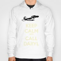 daryl Hoodies featuring Call Daryl by Lost Link Art