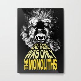 The Monoliths Print Metal Print