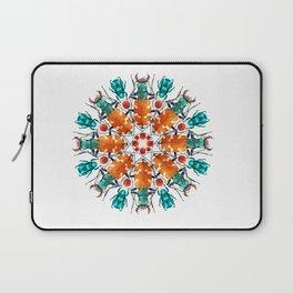 Bug Mandala Laptop Sleeve