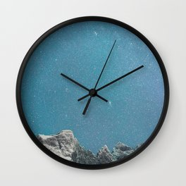 A sky full of stars Wall Clock