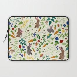 Rabbits In The Garden Laptop Sleeve