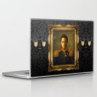 replaceface Laptop & iPad Skins featuring Elijah Wood - replaceface by replaceface