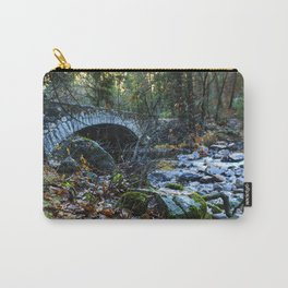 Bridge, Yosemite, California, Fall Carry-All Pouch