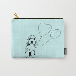 cavapoo world blue Carry-All Pouch