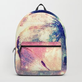 Celestial Butterfly Deep Pastels Backpack