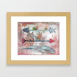 Heart Arrows Framed Art Print