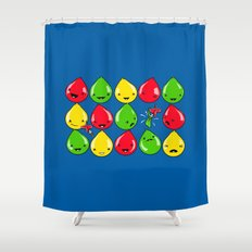 It's All Fun and Games, Until... Shower Curtain