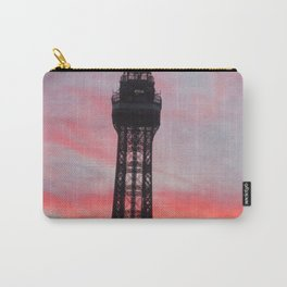 Blackpool Tower Sunset Carry-All Pouch