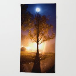 Smooth Collision Beach Towel