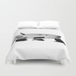 Face the wind Duvet Cover