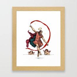 The dance of eternity Framed Art Print