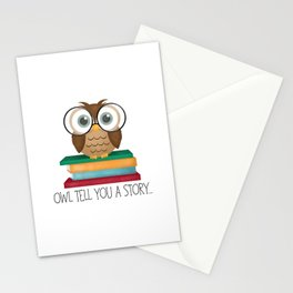 Owl Tell You A Story... Stationery Cards