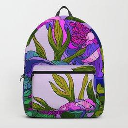 Floral Lines 2 Backpack