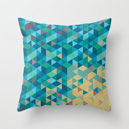 Tri Hard Throw Pillow
