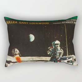 2001 A Space Odyssey 1968 Turkish Lobby Broadside Vintage Film Poster Rectangular Pillow