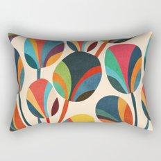Ikebana - Geometric flower Rectangular Pillow