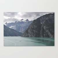 alaska Canvas Prints featuring Alaska by Tasha Marie