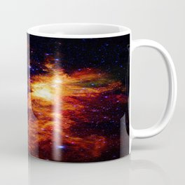 Fiery gAlAXy Indigo Stars Coffee Mug