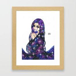 Supernova. Framed Art Print