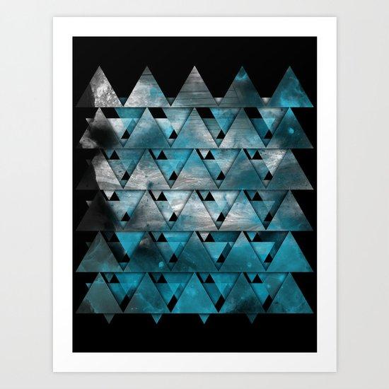 TriangleTracts Art Print