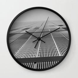 NEW YORK BUILDING.  Wall Clock